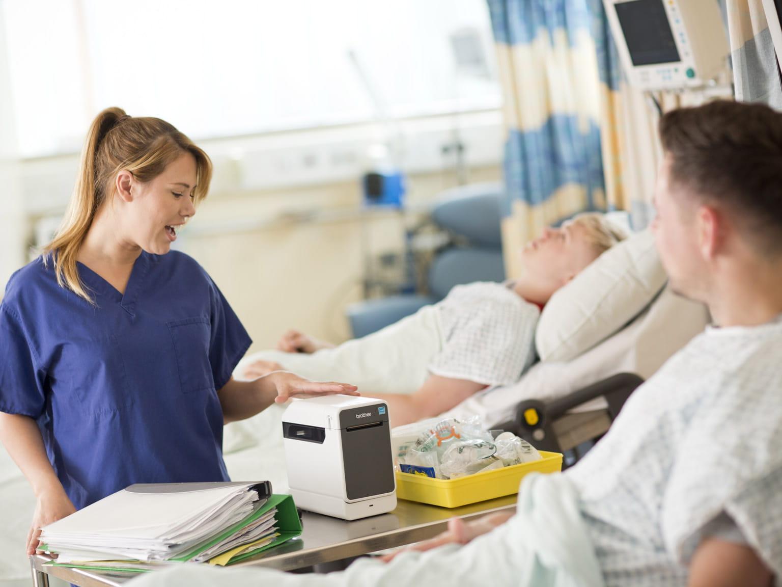 PJ na nemocničnej izbe