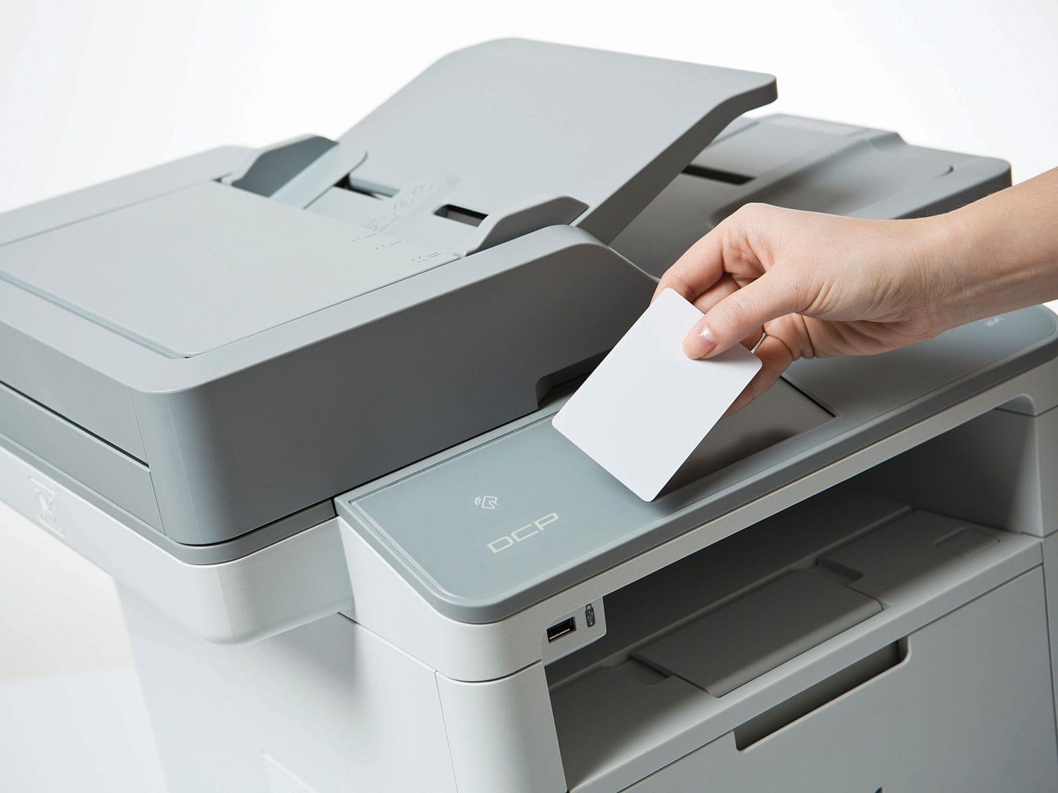 Prístup k tlači s ID kartou