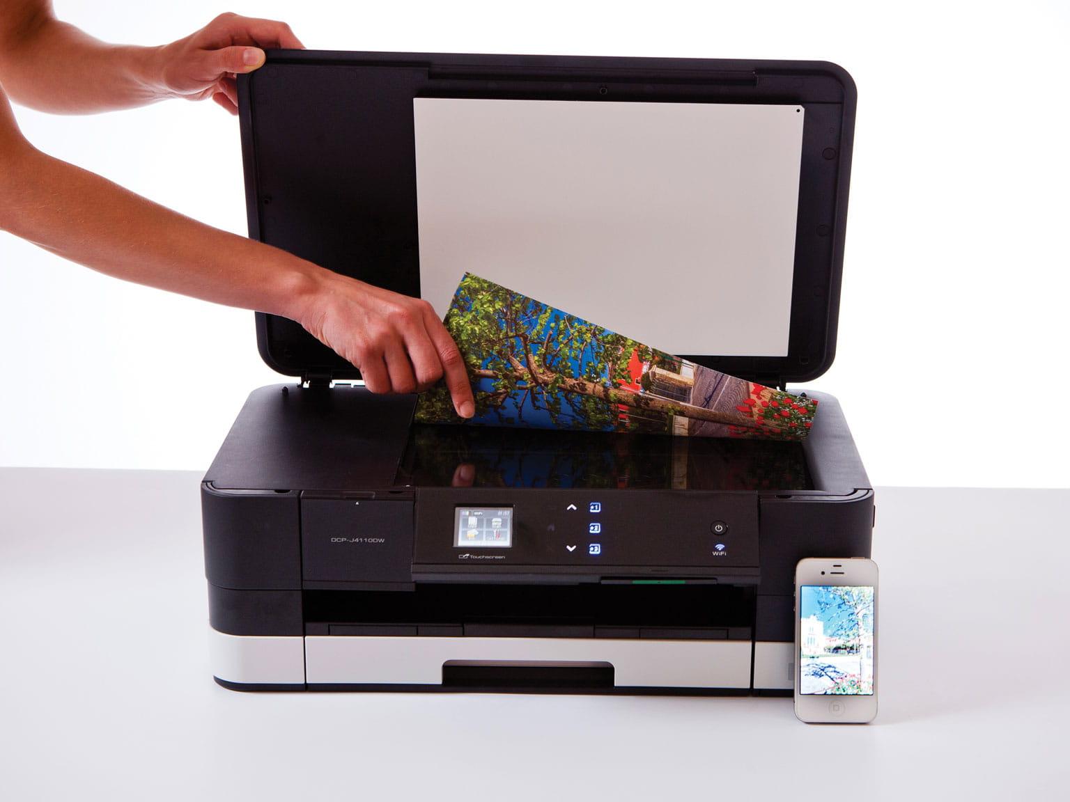 Skenovanie zo skla skenera