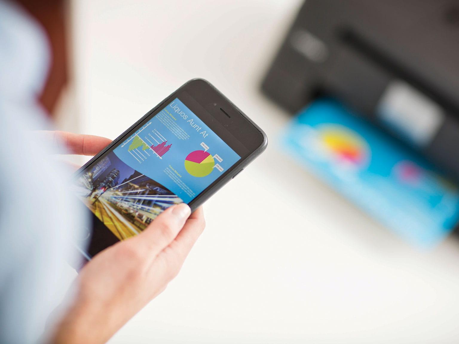 Mobilná tlač a skenovanie