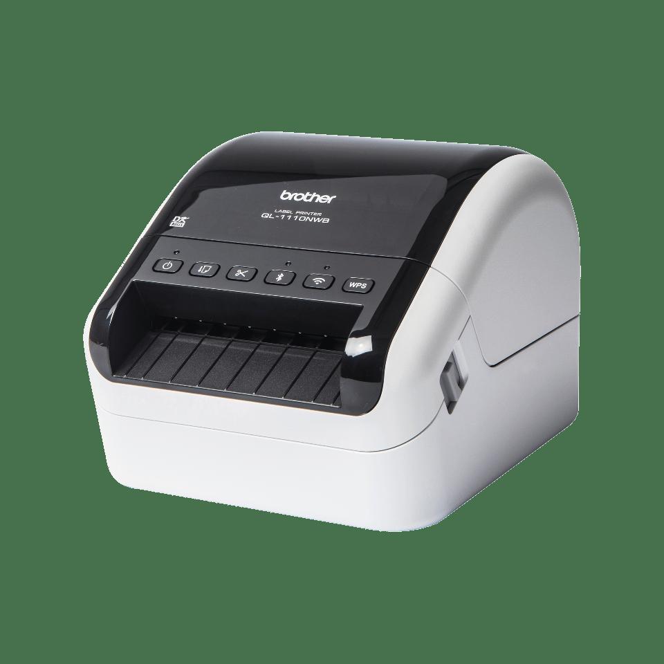 QL-1110NWB wide format shipping barcode label printer  2