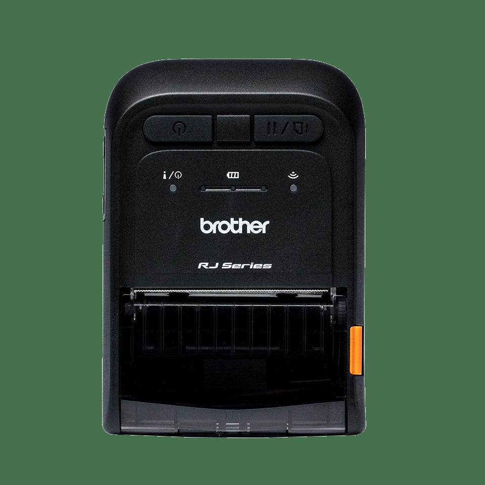 prenosná tlačiareň štítkov Brother RJ2055WB náhľad spredu
