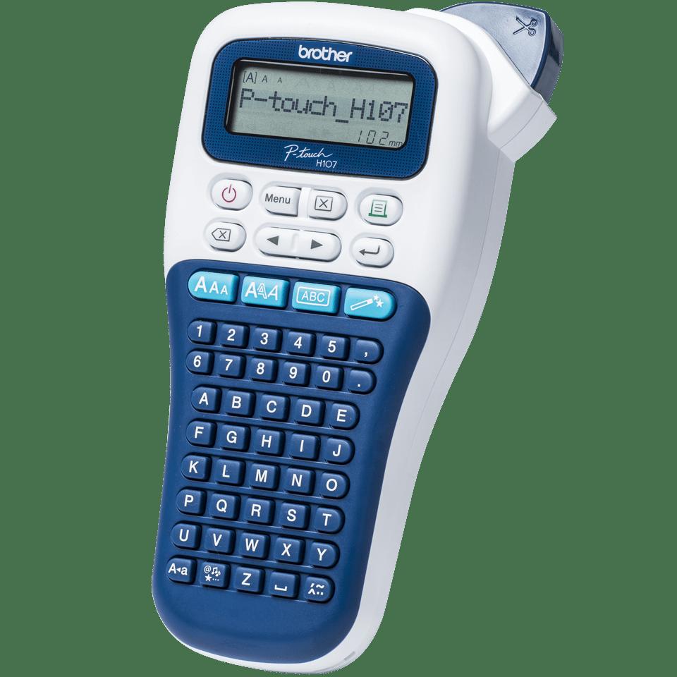 P-touch PT-H107B Ručný model tlačiarne štítkov