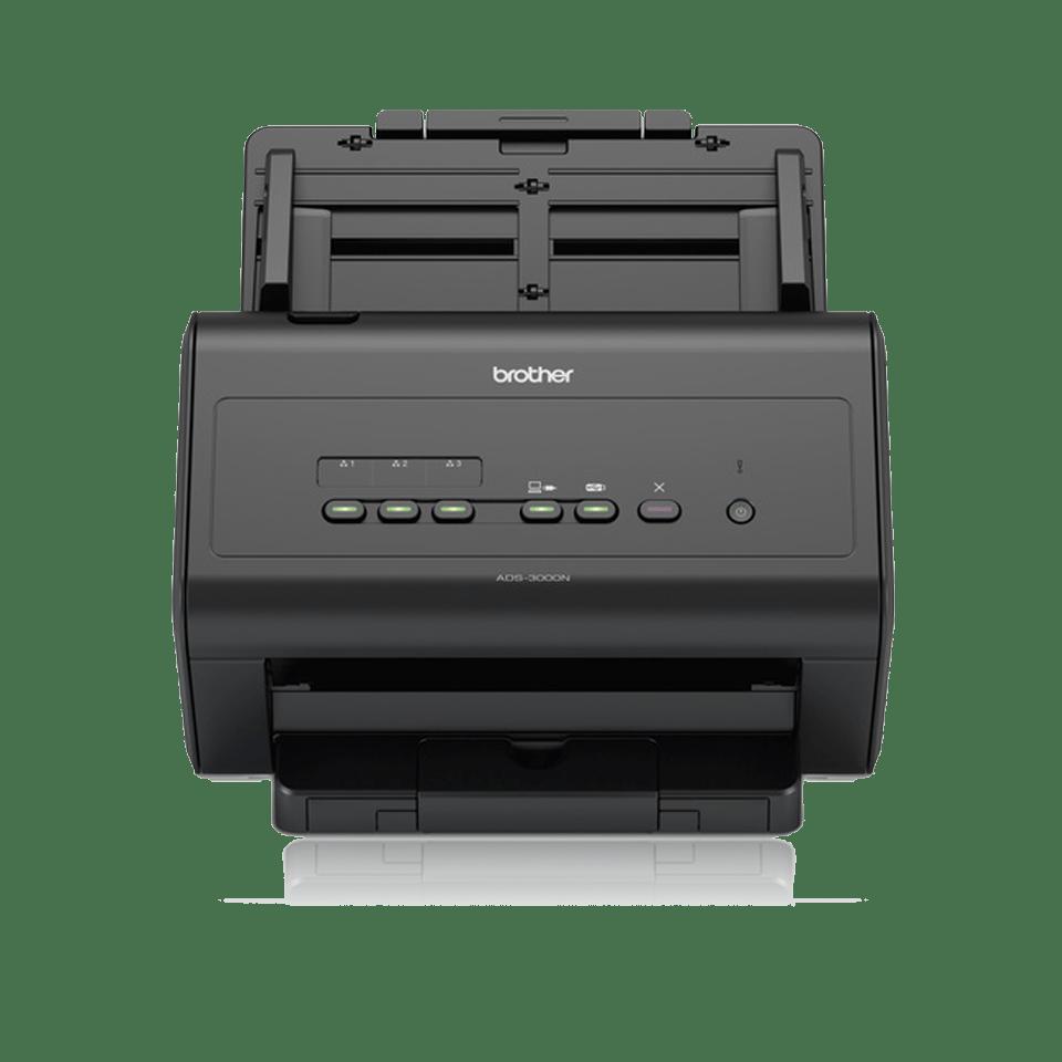 Vysokorýchlostný sieťový skener pre kancelárie ADS-3000N