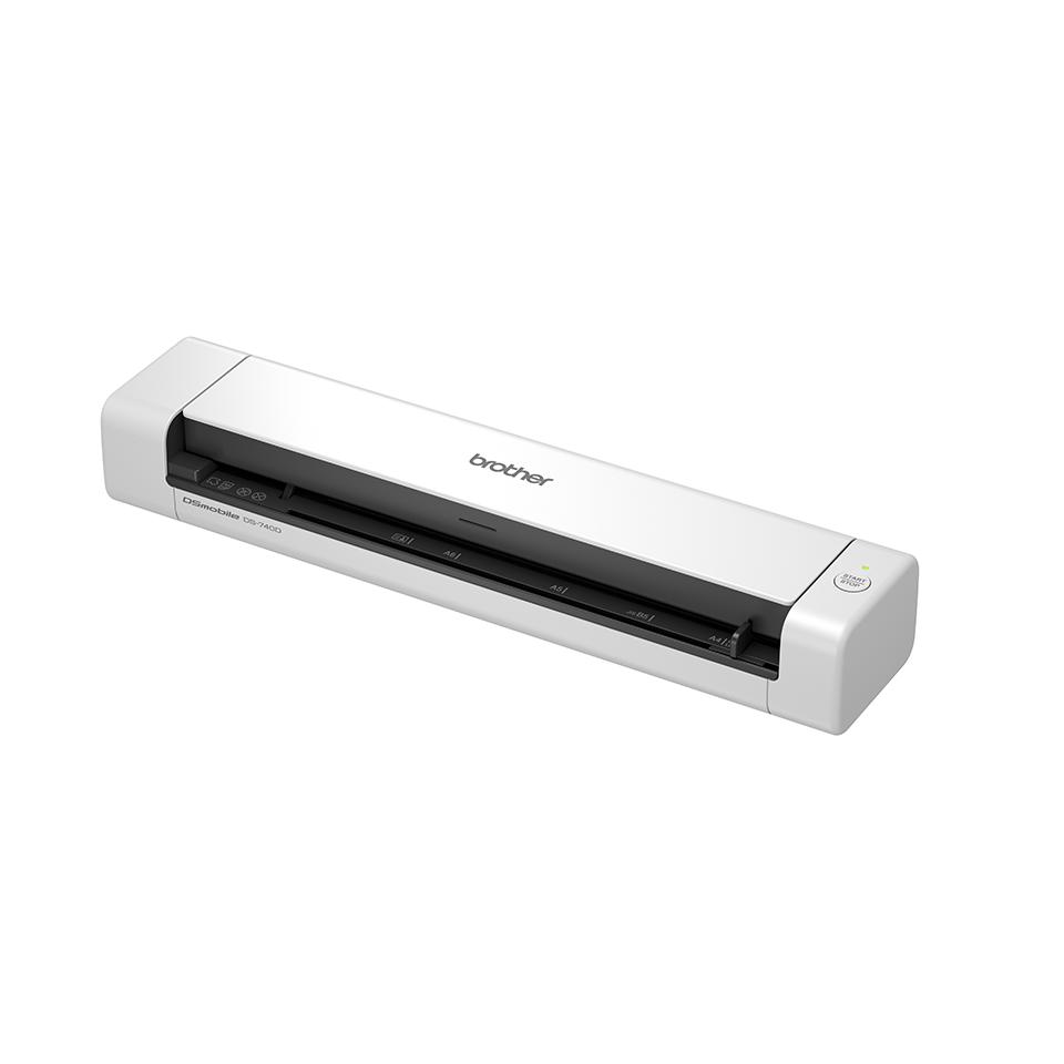 Brother DS-740D prenosný skener dokumentov s funkciou obojstranného skenovania 2