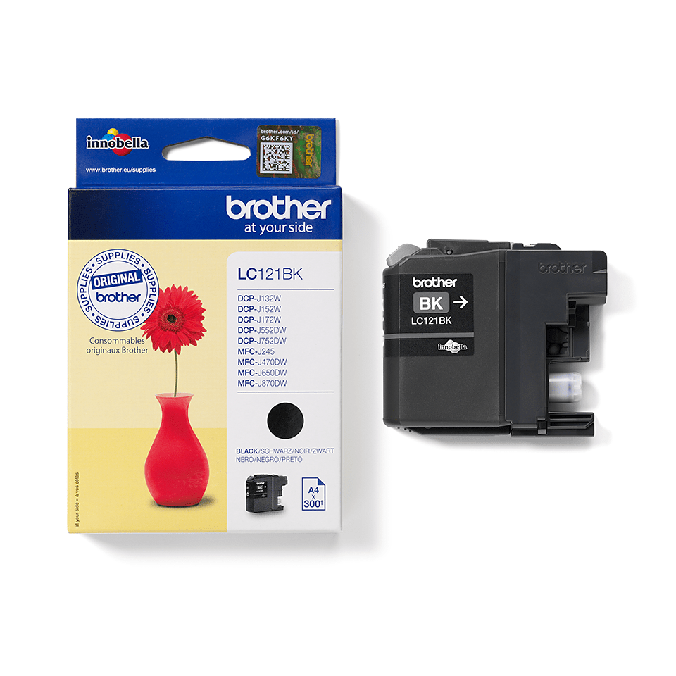 Brother LC-121BK 2