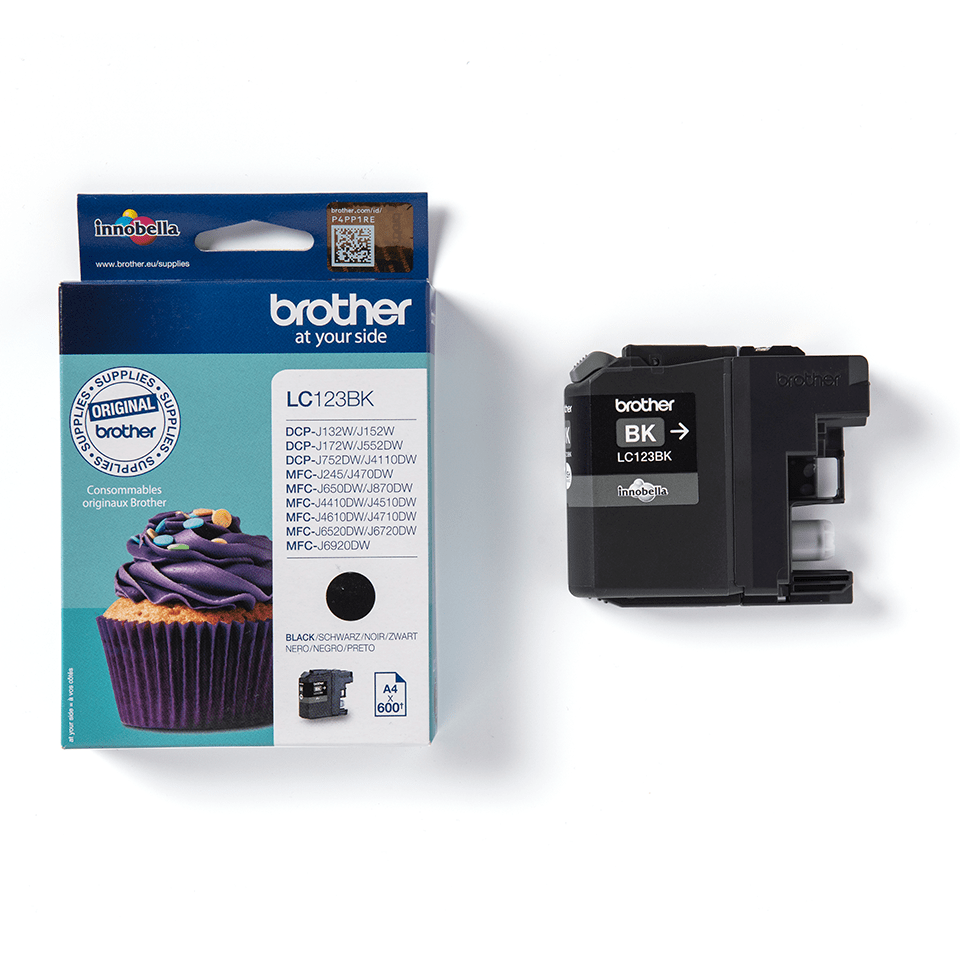 Brother LC-123BK 2