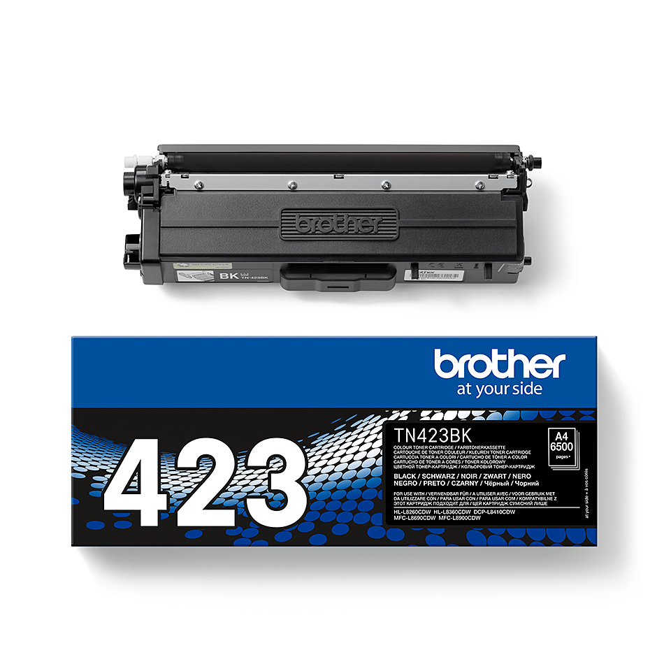 Brother TN-423BK 2