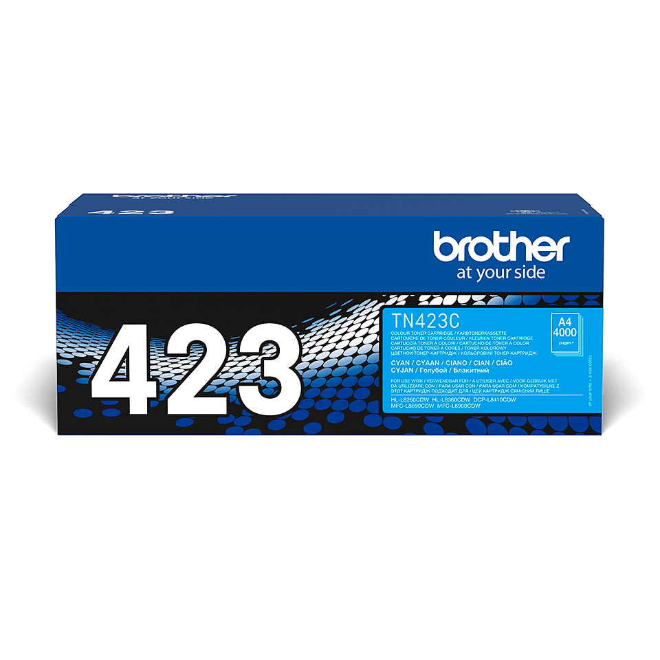 Brother TN-423C Toner Cartridge - Cyan