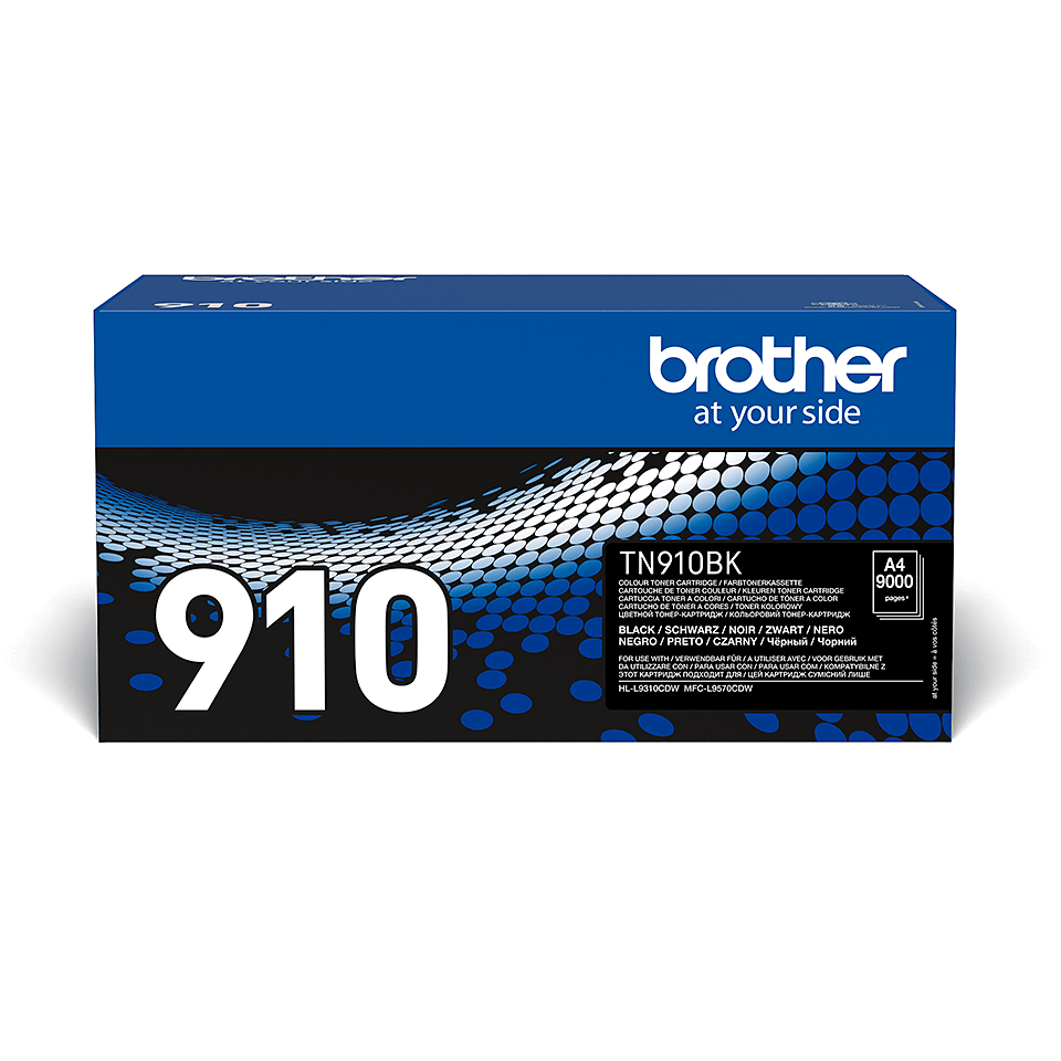 Brother TN-910BK