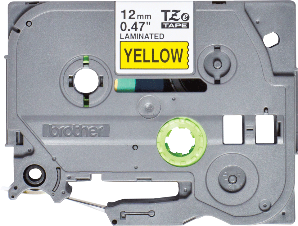Genuine Brother TZe-631S Labelling Tape Cassette – Black on Yellow, 12mm wide 2